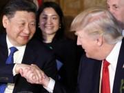 Cái bắt tay chỉ 5 giây giữa Trump và Tập Cận Bình