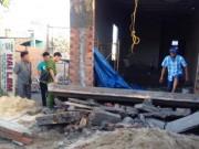 Sập đan bê tông nhà xây trái phép, 2 người thương vong