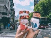 Chiêm ngưỡng cây kem 4 tầng đang  ' làm mưa làm gió '  trên Instagram