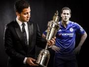 """Cầu thủ hay nhất Ngoại hạng Anh: Hazard  """" cô đơn """""""