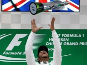 """Thể thao - BXH F1 - Chinese GP: """"Viên ngọc đen"""" lập lại trật tự"""