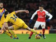 "Crystal Palace - Arsenal:  "" Cửa tử ""  cận kề"