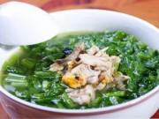 Ẩm thực - Cách nấu canh rau cải cá rô đồng không bị tanh, nước ngọt lịm