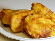 Chào tuần mới với bánh chuối chiên giòn rụm, ăn hoài không chán
