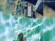 Thế giới - Run rẩy bước trên trời trong bể bơi cách đất 42 tầng nhà