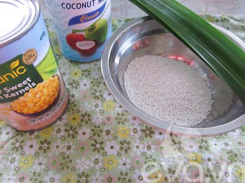 Cách làm chè bắp bột báng mát lạnh ngày hè - 1