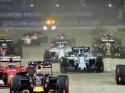 Lịch thi đấu F1: Italian GP 2017