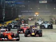 Lịch thi đấu F1: Singapore GP 2017
