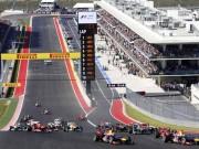 Thể thao - Lịch thi đấu F1: United States GP 2017