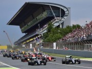 Thể thao - Lịch thi đấu F1: Spanish GP 2017