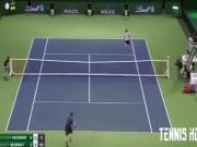 Federer gây sốt Murray: Tung 2 tuyệt kỹ trong 1 cú đánh