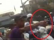 Tin tức trong ngày - Cản lái xe băng qua đường sắt, nữ nhân viên mang bầu bị tát sưng mặt