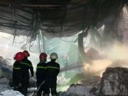 Tin tức trong ngày - Sau nhiều tiếng nổ lớn, công ty sơn bốc cháy dữ dội