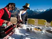 Đặc sản 3 miền - Bữa sáng siêu đắt đỏ dành cho đại gia trên đỉnh Everest