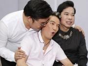 Mr. Đàm hoảng hốt vì bị Quang Lê...hôn lén