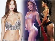 """Làm đẹp - Bộ ba """"nữ thần phòng gym"""" xứ Hàn khiến mày râu chao đảo"""