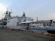 Tin tức trong ngày - Tàu Hải quân Hoàng gia New Zealand cập cảng Tiên Sa thăm Đà Nẵng