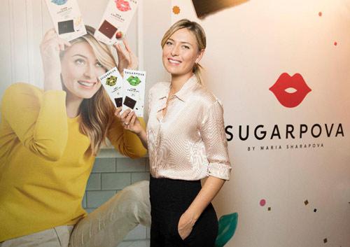 Sharapova đã xinh còn cực giàu: Bán kẹo kiếm 400 tỷ VNĐ