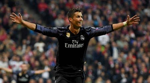 """Ronaldo """"hung thần"""" siêu thủ môn: Át vía Neuer, Buffon - 1"""
