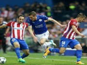 Atletico Madrid - Leicester: Quả 11m gây tranh cãi