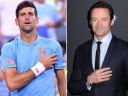 """Thể thao - Cực nóng: Djokovic khiêu chiến """"Người sói"""" Hugh Jackman"""