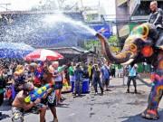 Trốn cái  ' nóng muốn bùng cháy '  của mùa hè cùng 8 lễ hội nước nổi tiếng TG