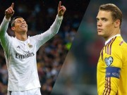 """Bóng đá - Ronaldo """"hung thần"""" siêu thủ môn: Át vía Neuer, Buffon"""