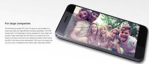 """CHÍNH THỨC: HTC One X10 trình làng, pin 4000mAh, giá """"mềm"""" - 1"""