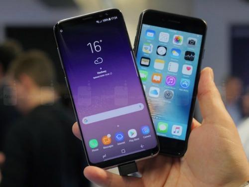 Samsung soán ngôi Apple về doanh số bán ra quý 1/2017 - 2