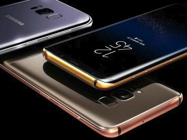 Samsung Galaxy S8 mạ vàng giá 68 triệu đồng