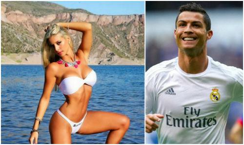 """Ronaldo ngó lơ bạn gái hot girl, """"à ơi"""" MC quyến rũ"""