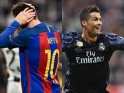 Đua QBV: Messi trong cơn bĩ cực, Ronaldo bứt đi thật xa