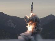 Thế giới - Thủ tướng Nhật: Triều Tiên có thể phóng tên lửa hóa học
