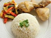 Ẩm thực - Cách nấu cơm gà bằng nồi cơm điện vừa tiện, vừa nhanh