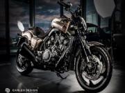 """Yamaha SteamPunk V-Max 1700 độ da quá  """" khủng """""""