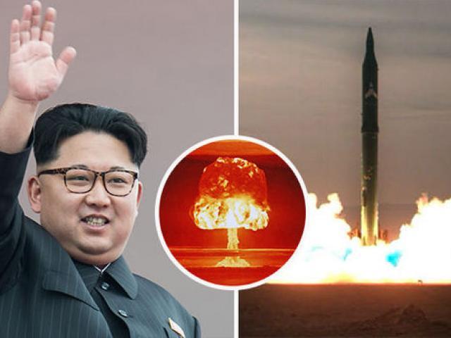 Ngày 15.4, Triều Tiên từng khiến Mỹ định dội bom hạt nhân