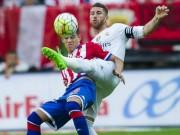 Video bàn thắng - Chi tiết Gijon - Real Madrid: Cú sút xa vỡ òa (KT)
