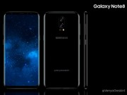 Dế sắp ra lò - Samsung Galaxy Note 8 màn hình 6,4 inch đẹp mê hồn