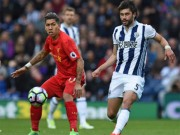 West Brom - Liverpool: Cơn đau tim 4 phút bù giờ