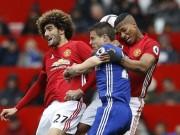 """Chi tiết MU - Chelsea:  """" Quỷ đỏ """"  thủ chắc giữ thành quả (KT)"""