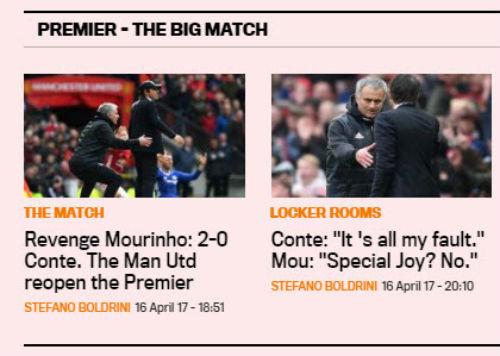 """Báo chí Anh: Mourinho là """"bậc thầy"""", Chelsea lâm nguy - 1"""
