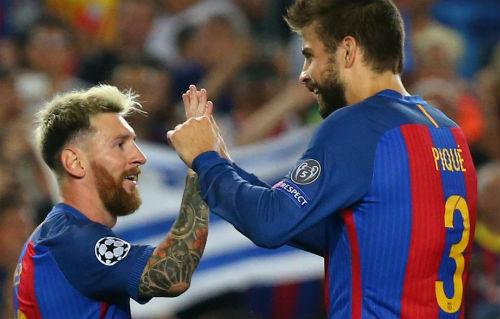 """""""Đại ca"""" Messi quyết """"thay máu"""" Barca: Đuổi Pique và 4 SAO"""