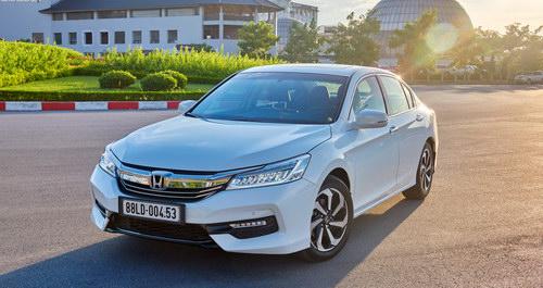 Honda Việt Nam khuyến mãi hấp dẫn cho Honda CR-V và Honda Accord - 2