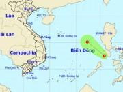 Tin tức trong ngày - Biển Đông xuất hiện áp thấp nhiệt đới đầu tiên trong năm 2017