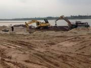 Thị trường - Tiêu dùng - Giá cát tăng từng ngày, nhà thầu méo mặt
