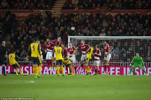Middlesbrough - Arsenal: Dấu ấn hai ngôi sao - 1
