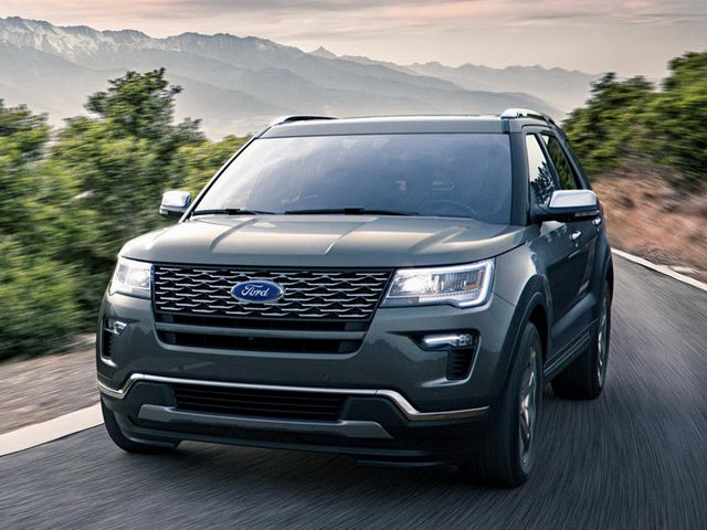 Ford Explorer 2018 mới tiện nghi và an toàn hơn - 1