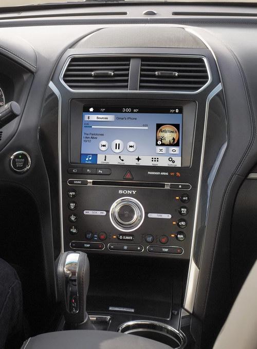 Ford Explorer 2018 mới tiện nghi và an toàn hơn - 2