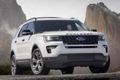 Ford Explorer 2018 mới tiện nghi và an toàn hơn - 4