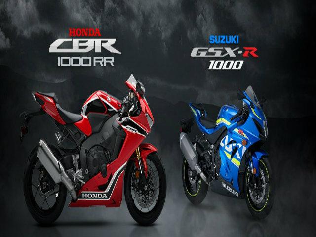 Chọn mua Honda CBR1000RR hay Suzuki GSX-R1000?